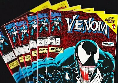 Venom: Lethal Protector #1 NM UNREAD! First Print Foil cover (Marvel 1993)