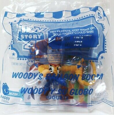 McDonald's Toy Story 4 Happy Meal Woody #5 Sticker Sets New 🤠