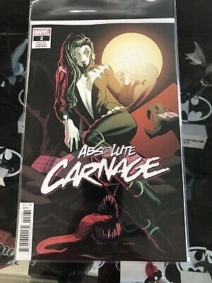Absolute Carnage #2 (2019) 1:25 Kris Anka Variant Donny Cates Marvel Comics