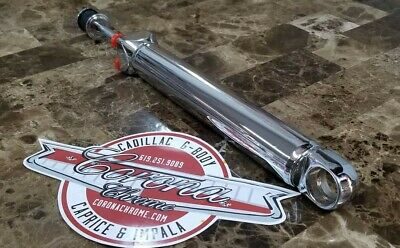 NEW Chrome Power Steering Ram Cylinder 55-57 CHEVROLET Bel Air