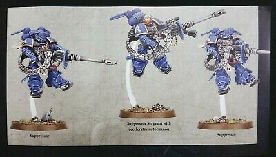 Warhammer 40K Space Marines 3 Suppressors Squad Vanguard Shadowspear Primaris