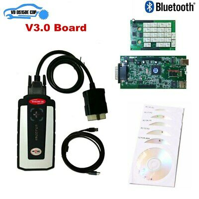 AUTO DIAGNOSI MULTIMARCHE USB BLUETHOOTH 2019 WOW OBD + 3 DVD di PROGRAMMI