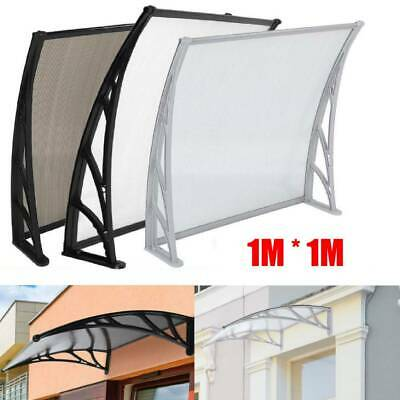 Door Window Canopy Awning Porch Sun UV Front Shield Shelter Patio Rain Cover New