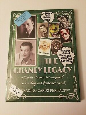The Chaney Legacy Factory Sealed Trading Card Pack 2019