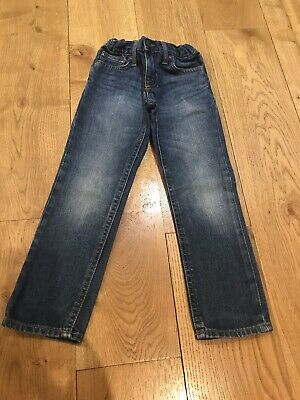 Boys Genuine Polo Ralph Lauren Denim Jeans Age 4 Years In Ex Condition
