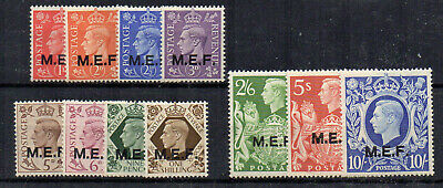 British Occupation of Italian Colonies 1943-47 GB opt set to 10s MNH
