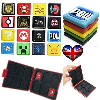 12 in 1 Portable Game Card Case Storage Box Holder For Nintendo Switch Poke Ball