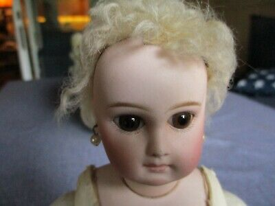 """13"""" Antique Sonnenberg German Doll Made For The French Market"""