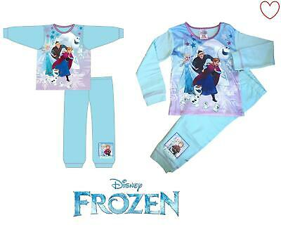 Girls Pajamas Set Disney Frozen Elsa Anna Pyjamas