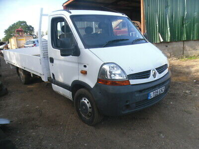 Renault Master 2.5DCI LWB 14Ft  Alloy Dropside LL35 DCi100 2009 6 Spd,PICK UP