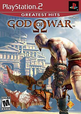 God of War Greatest Hits (PlayStation 2, 2005) Brand New Factory Sealed