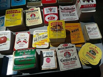 Old Liquor Labels Lot