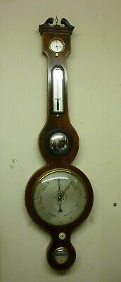 Good 19th Century Mahogany Banjo Barometer By G Fillinger Market Place Ely