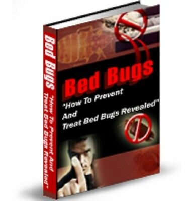 Bed Bugs PDF eBook with Private Label Rights PLR