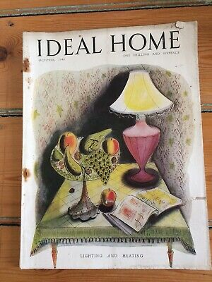Vintage Ideal Home magazine from October 1948