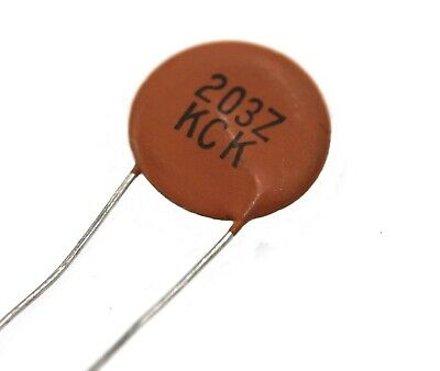 @ 500v Disc Ceramic Capacitor Ref # 52 203 0.02uf 12PCS .02uf