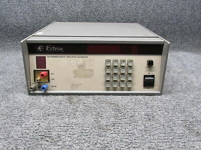 Ectron 1120 Thermocouple Precision Voltage Control Simulator Calibrator *Tested*
