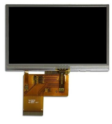 """4.3"""" LCD TFT with Resistive Touch"""