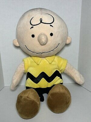 """Peanuts Kohl's Cares Charlie Brown Stuffed Plush Toy 14+"""""""