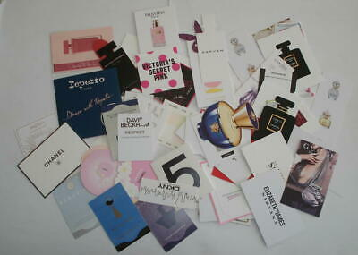 Lot De 80 Cartes Parfumees - Chanel Repetto Carven Valentino Gucci .. Lot 2