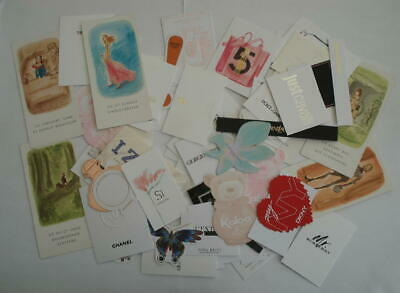 Lot De 80 Cartes Parfumees - Chanel Rabanne Dkny Lancome Armani Kaloo .. Lot 1