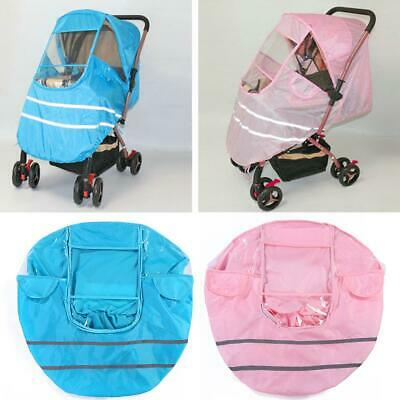 Universal Baby Stroller Accessories Waterproof Rain Cover Dust Shield Tool
