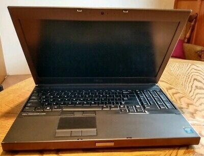 DELL PRECISION M4800 Laptop 2 80GHz i7-4810MQ 8GB Ram Nvidia