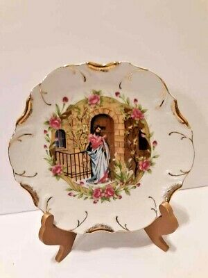 Mid State Product 18k Gold Trim Collectors Plate - Jesus Knocking At Your Door