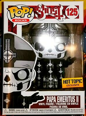 Funko Pop Papa Emeritus Ii Hot Topic Ghost Rocks Vinyl Figure New In Hand