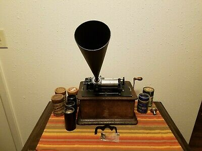 1906 Edison Standard Phonograph 2 and 4 minute capabilities