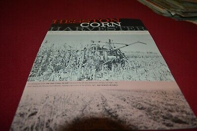 Hesston Corn Harvester Dealer's Brochure AMIL15