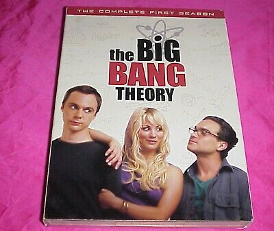 The Big Bang Theory - The Complete First Season 1 One (DVD, 2008, 3-Disc Set)