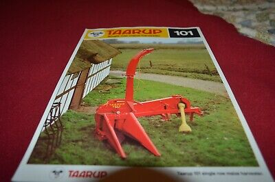 Taarup 101 Corn Forage Harvester Dealer's Brochure AMIL15