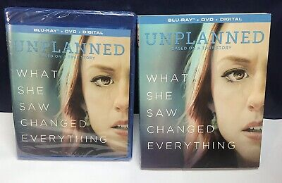UNPLANNED BluRay - What She Saw Changed Everything/BRAND NEW/SEALED