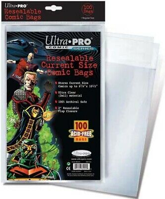 Ultra Pro Resealable Current Size Comic Bags