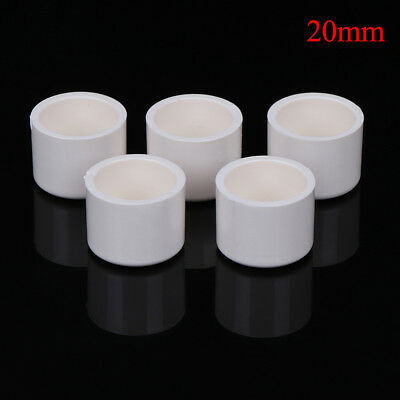 5 Pcs 20mm water pipe fittings pvc slip end caps covers white US JT SS