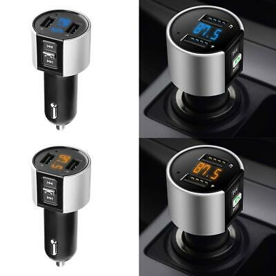Bluetooth Car FM Transmitter MP3 Player Dual USB Charger Radio Adapter W/Led