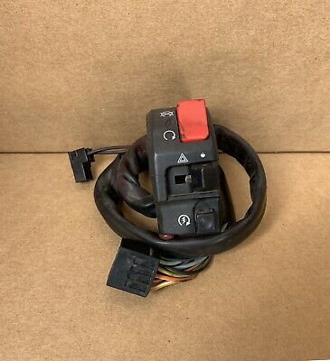 GSXR 600 Right Kill Bar Switch Handle On Off from 2005 Suzuki #128 PARTS