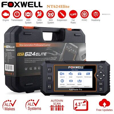 Foxwell OBD2 Scanner Full System Auto VIN Diagnostic Tool Code Reader For BMW GM