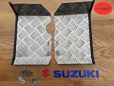 Suzuki LT50 Foot Plates / Rests / Ankle Protectors. Nerf Bars. FIRST CLASS P&P.