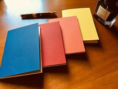 Lot of 4 Tomoe River A6 Notebooks - Japanese Fountain Pen Friendly Paper