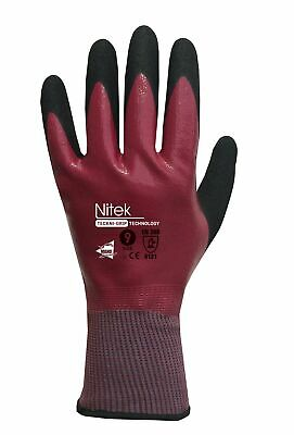 Manusweet Nitek 12 paires de Gants de protection Oleofuges