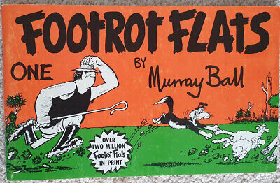 Footrot Flats No. 1 - By Murray Ball - Vintage Comic / Cartoon Book,
