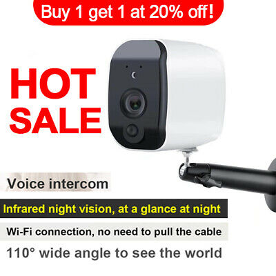 HD 1080P Waterproof Battery IP Camera Home Outdoor Security System WIFi Camera