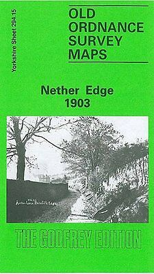 Old Ordnance Survey Map Nether Edge 1903