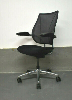 Humanscale Liberty Task Office Swivel Chair [Polished Alloy Frame] 6 Available