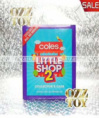 Coles Little Shop 2 Mini Collectables - minis,case,gift card local pick up mel