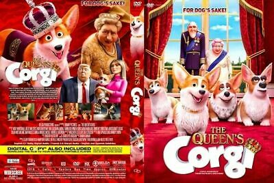 The Queen's Corgi DVD, Full HD DISC Only Free Delivery - Comedy Animation Movie