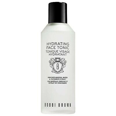 Bobbi Brown Hydrating Face Tonic Enriched Mineral Water 6.7 Oz Full Size No Box
