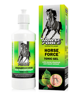 Horse Force gel for veins with horse chestnut and leech 500ml 10/2020